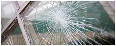 Coulsdon Smashed Glass